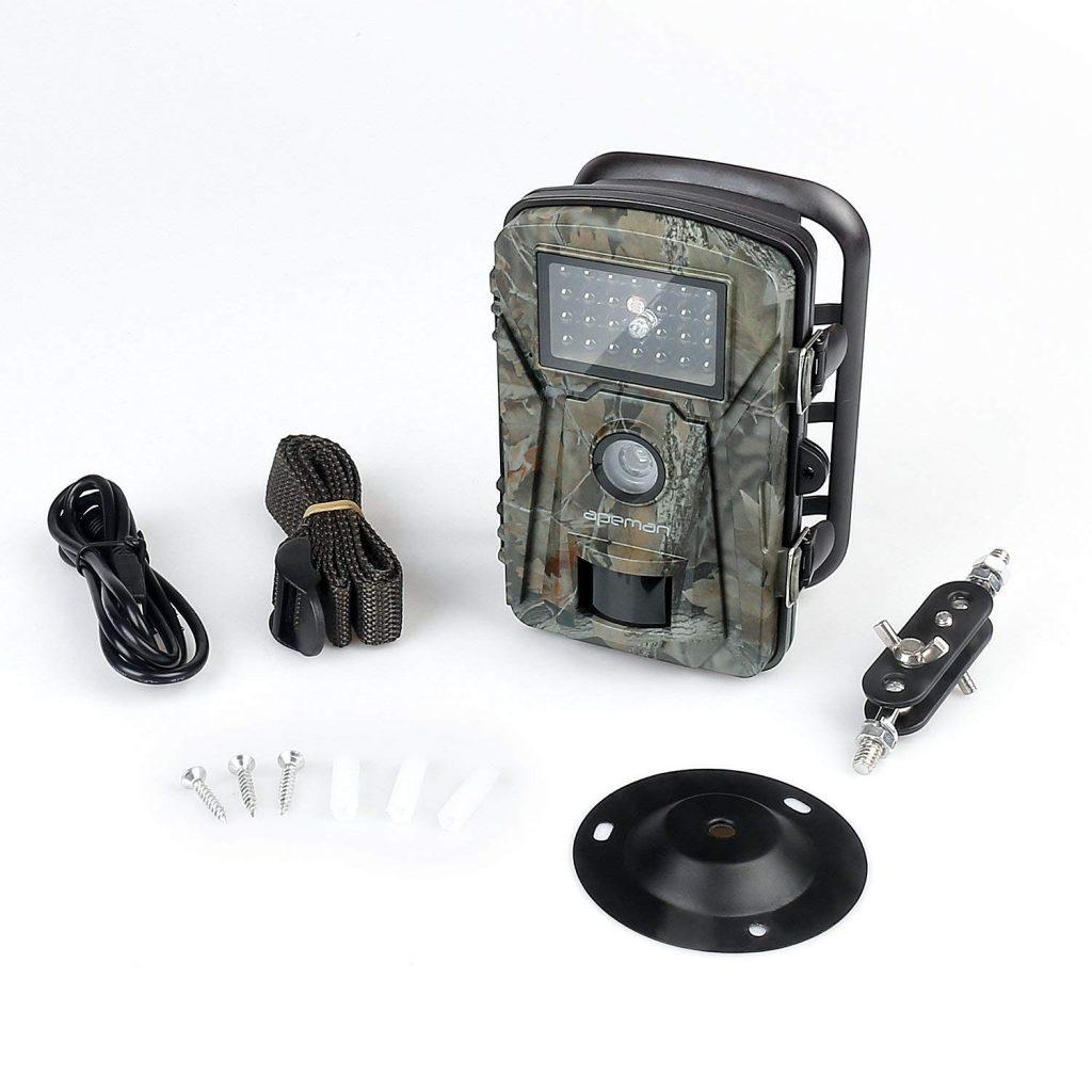 apeman camera chasse test